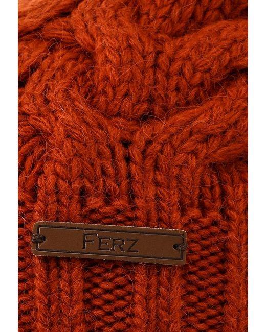 Шапка Ferz                                                                                                              оранжевый цвет