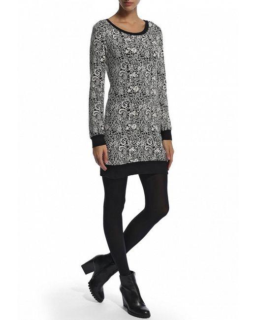 Платье F5                                                                                                              серый цвет