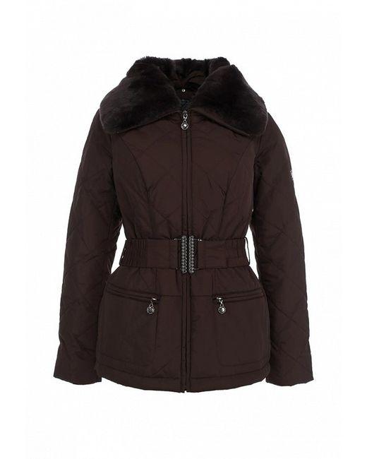 Куртка Утепленная Finn Flare                                                                                                              коричневый цвет