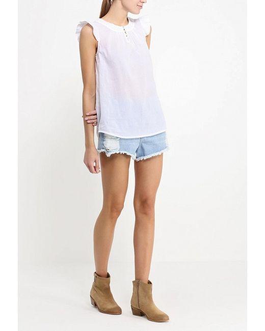 Блуза Finn Flare                                                                                                              белый цвет
