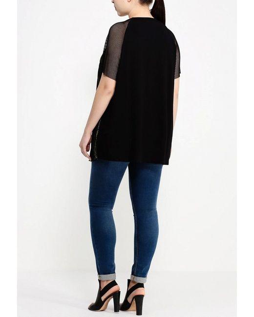 Блуза Fiorella Rubino                                                                                                              чёрный цвет