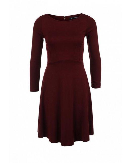 Платье French Connection                                                                                                              красный цвет