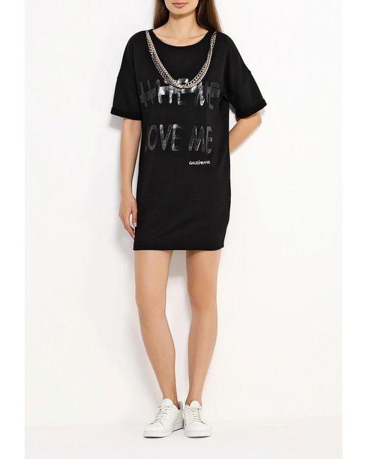 Платье Gaudi                                                                                                              чёрный цвет