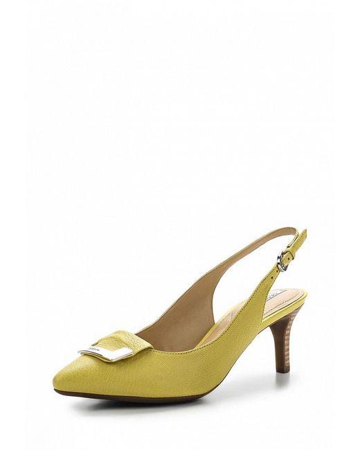Босоножки Geox                                                                                                              желтый цвет