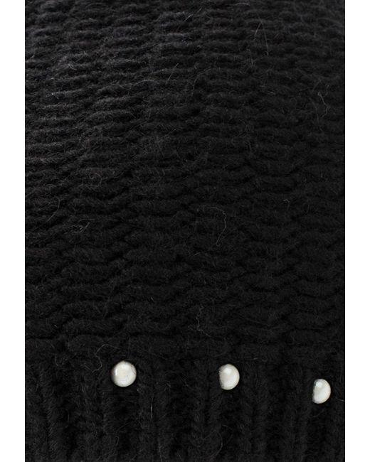 Комплект Шапка И Шарф Greenmandarin                                                                                                              чёрный цвет