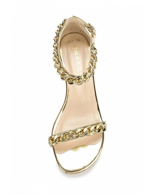 Сандалии Grand Style                                                                                                              золотой цвет