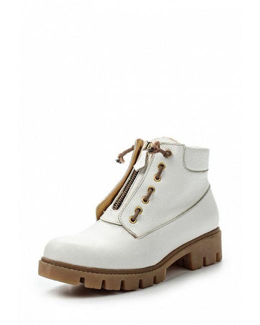 Ботинки Grand Style                                                                                                              белый цвет