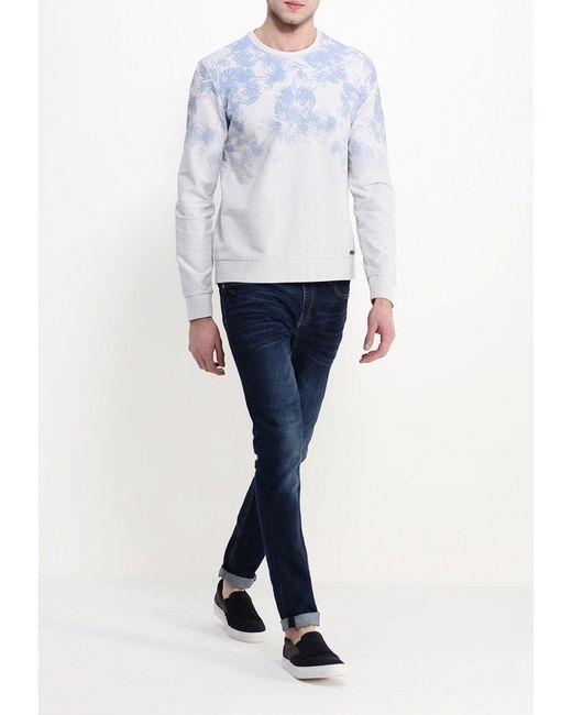 Свитшот Jeans Guess                                                                                                              серый цвет