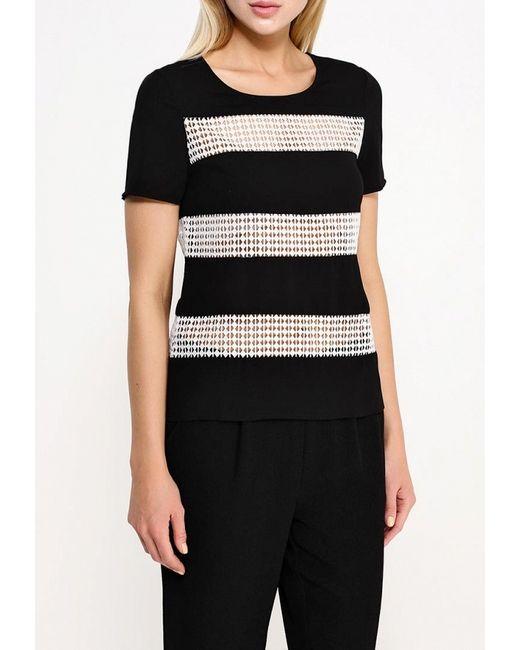 Блуза ICHI                                                                                                              чёрный цвет