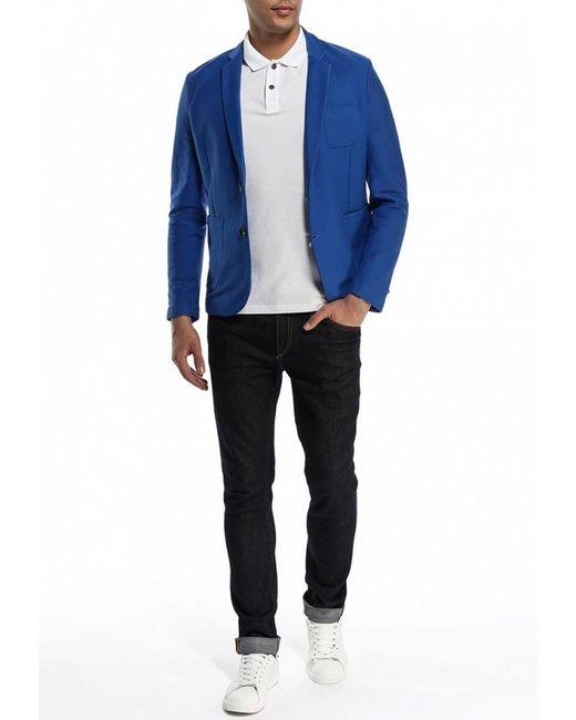 Пиджак ICEBERG                                                                                                              синий цвет