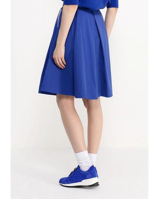 Юбка ICEBERG                                                                                                              синий цвет