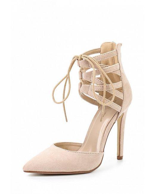 Туфли Ideal                                                                                                              бежевый цвет