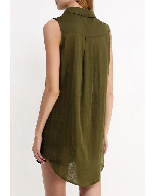 Платье Influence                                                                                                              хаки цвет