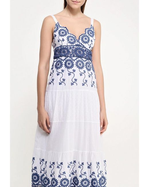 Платье Indiano Natural                                                                                                              белый цвет