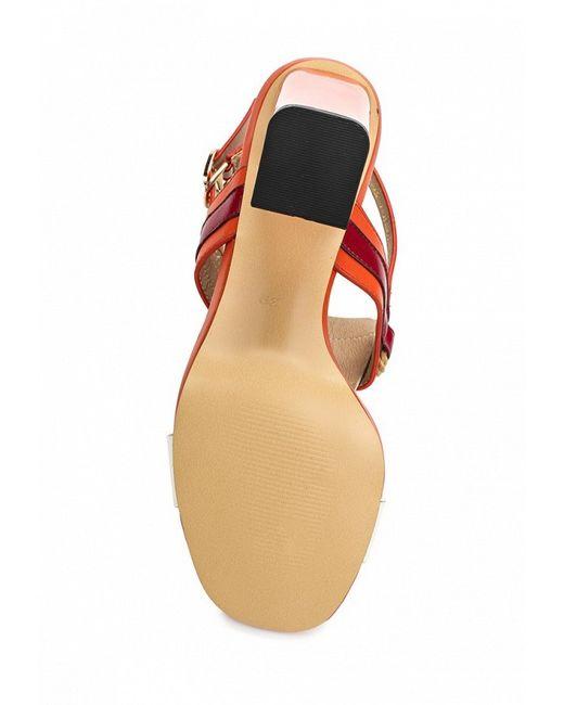 Босоножки Inario                                                                                                              оранжевый цвет