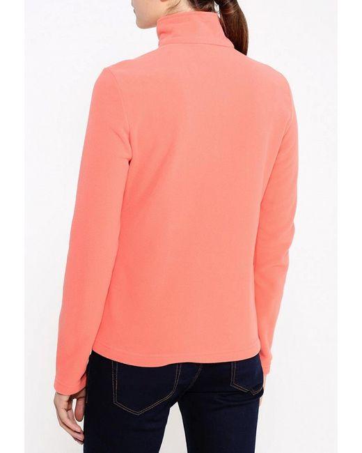 Олимпийка Jack Wolfskin                                                                                                              оранжевый цвет