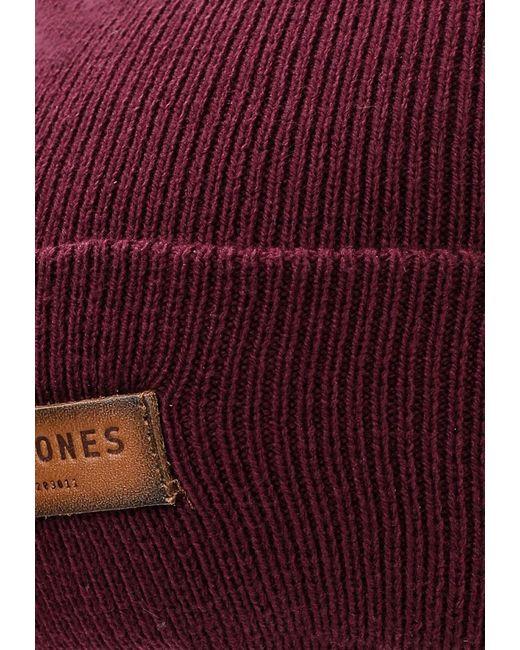 Шапка Jack Amp Jones Jack & Jones                                                                                                              красный цвет