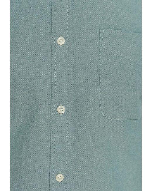 Рубашка Jack & Jones                                                                                                              голубой цвет