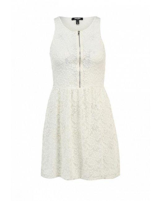 Платье Jennyfer                                                                                                              белый цвет