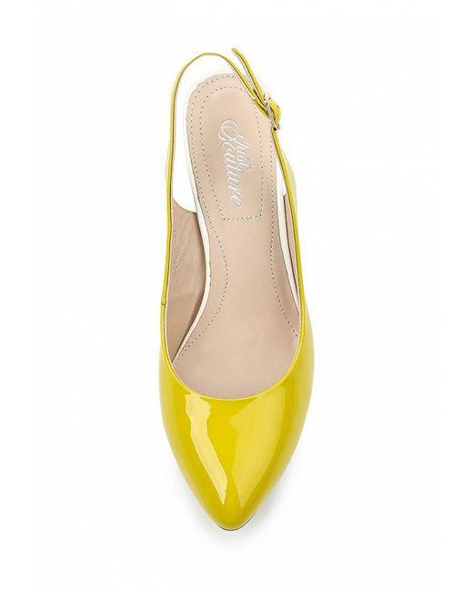 Босоножки JUST COUTURE                                                                                                              желтый цвет