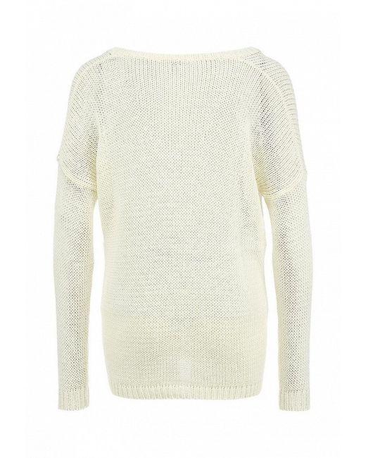 Пуловер Kontatto                                                                                                              белый цвет