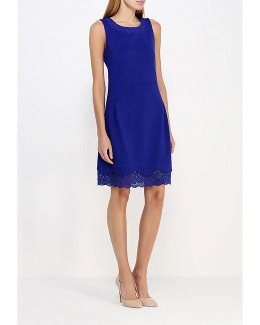 Платье Kruebeck                                                                                                              синий цвет
