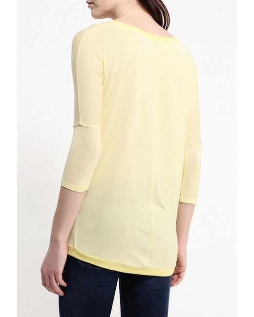Лонгслив Kruebeck                                                                                                              желтый цвет