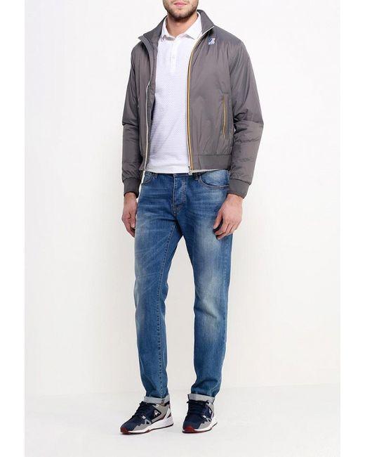 Куртка Утепленная K-Way                                                                                                              серый цвет