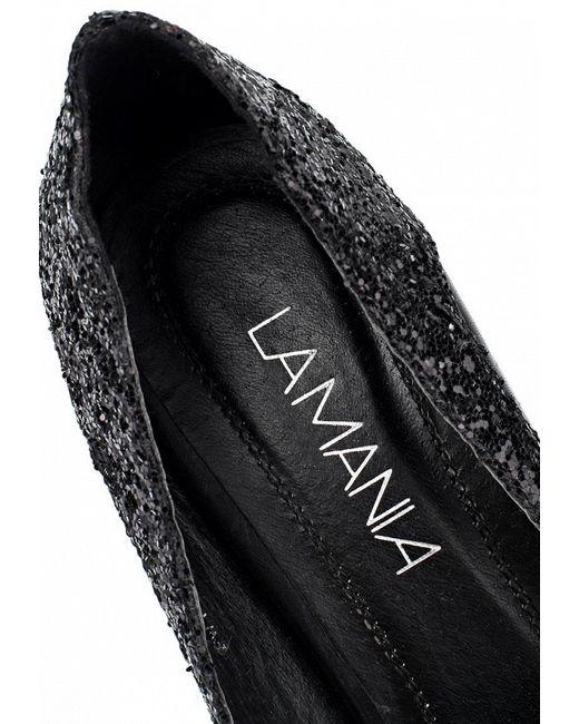 Туфли Lamania                                                                                                              чёрный цвет