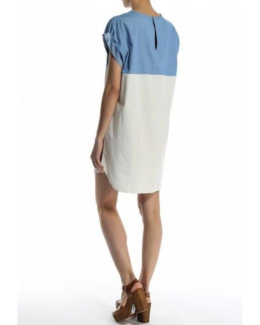 Платье Джинсовое Levi's®                                                                                                              многоцветный цвет