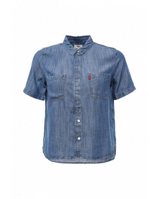 Рубашка Джинсовая Levi's®                                                                                                              синий цвет