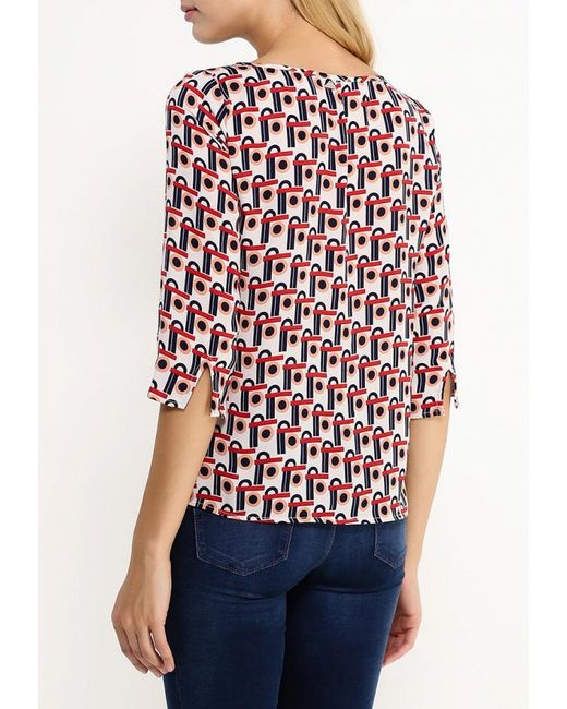 Блуза Liu Jo Jeans Liu •Jo Jeans                                                                                                              многоцветный цвет
