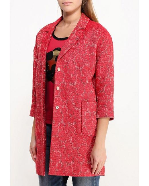 Пальто Liu Jo Liu •Jo                                                                                                              красный цвет