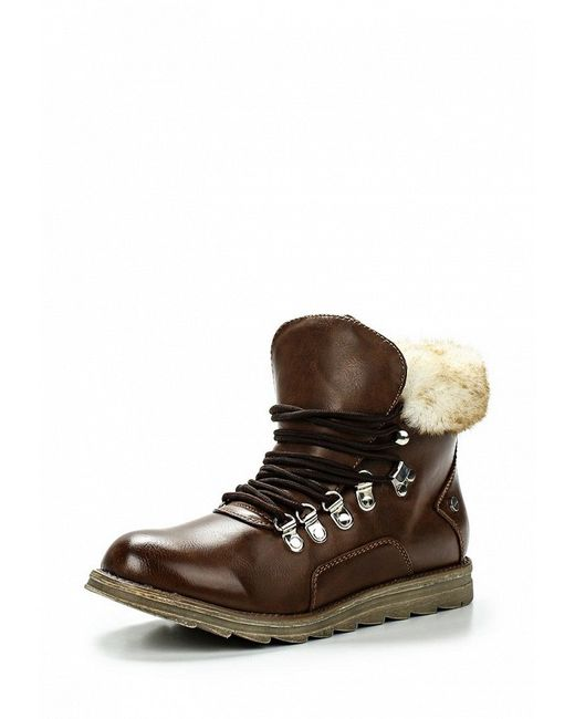 Ботинки LOST INK                                                                                                              коричневый цвет