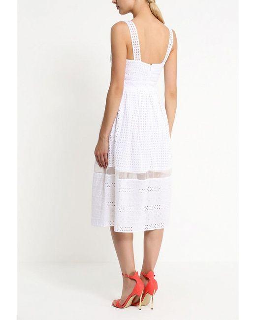 Платье LOST INK                                                                                                              белый цвет