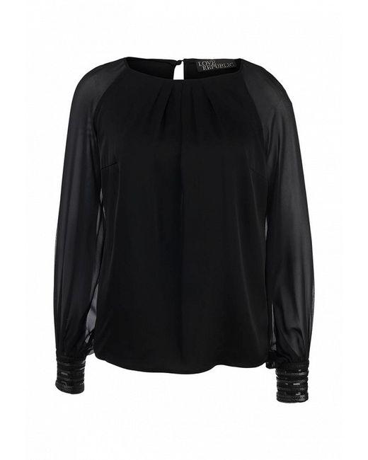 Блуза Love Republic                                                                                                              чёрный цвет