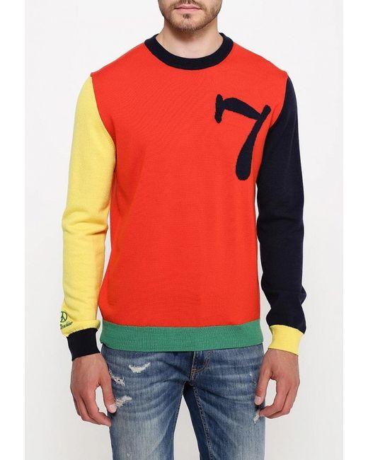 Джемпер Love Moschino                                                                                                              оранжевый цвет