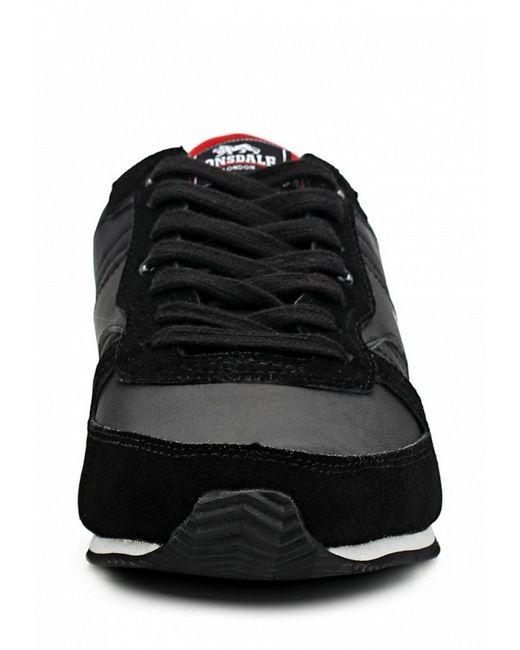 Кроссовки Lonsdale                                                                                                              чёрный цвет