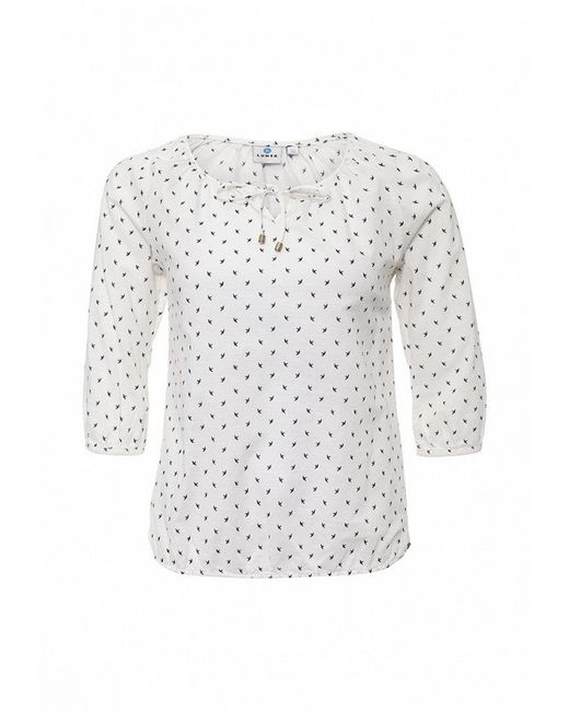 Блуза Luhta                                                                                                              белый цвет