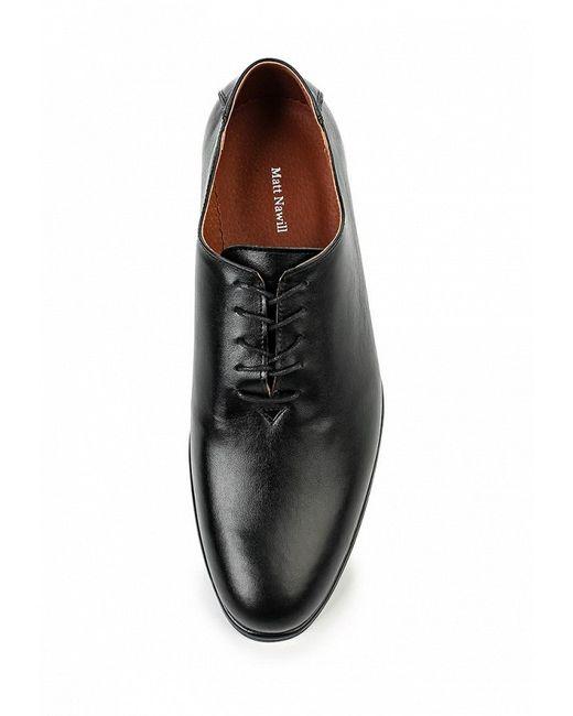 Туфли Matt Nawill                                                                                                              чёрный цвет