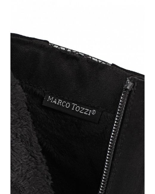 Ботильоны Marco Tozzi                                                                                                              чёрный цвет