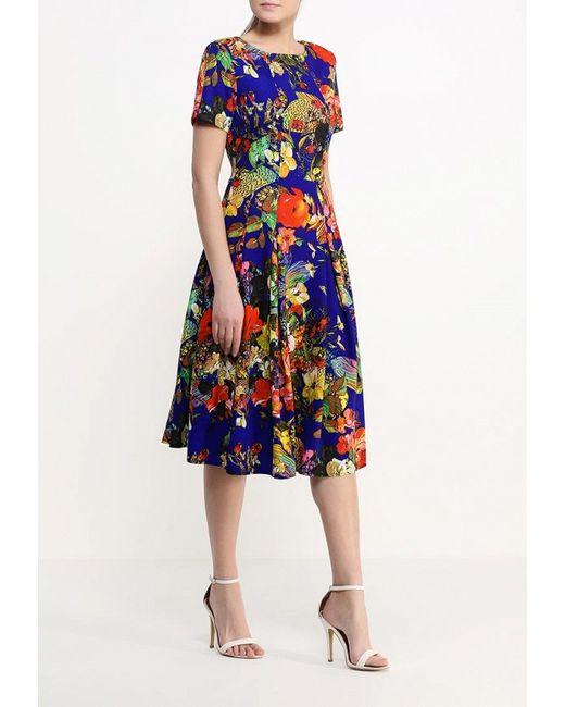 Платье MadaM T                                                                                                              многоцветный цвет