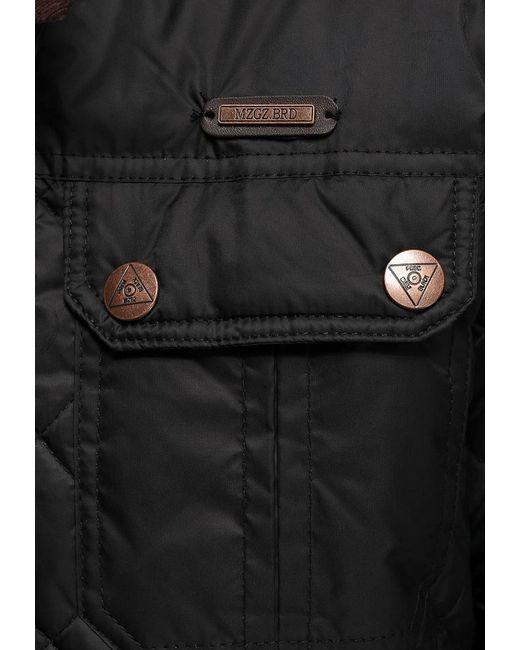Куртка Утепленная MeZaGuz                                                                                                              чёрный цвет