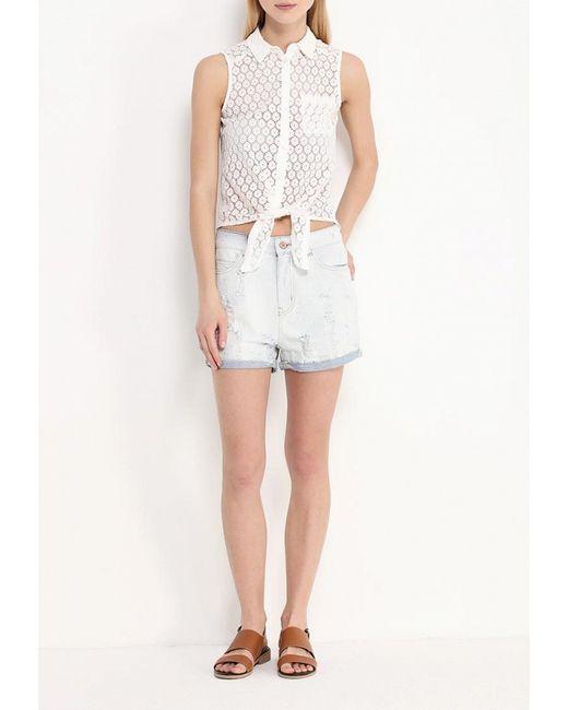 Блуза Mim                                                                                                              белый цвет
