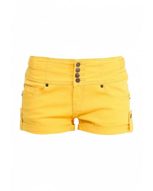 Шорты BlinQ                                                                                                              желтый цвет
