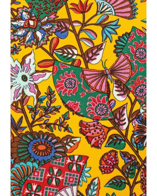 Платок Модные истории                                                                                                              многоцветный цвет