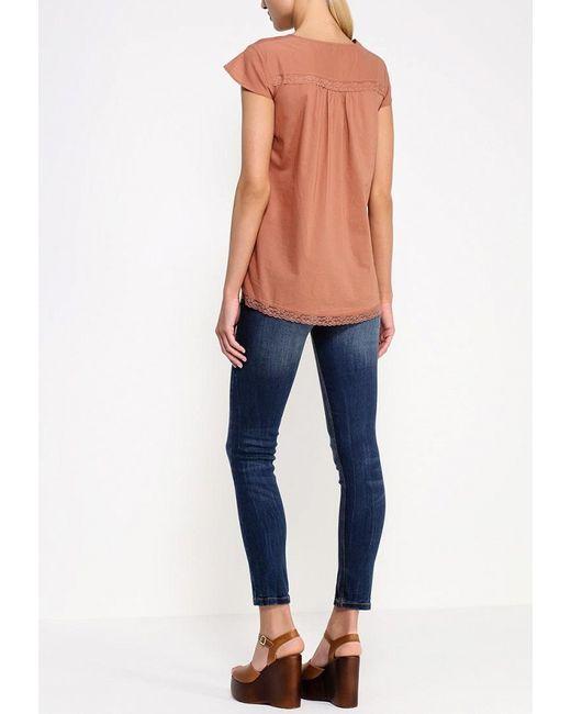 Блуза MOTIVI                                                                                                              коричневый цвет