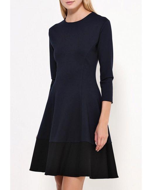 Платье GLZN by Galina Zhondorova                                                                                                              синий цвет