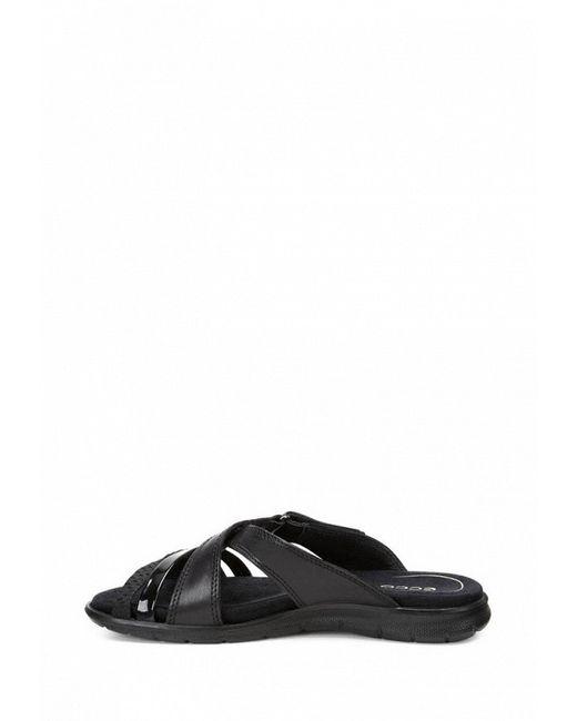 Сабо Babett Sandal Ecco                                                                                                              чёрный цвет