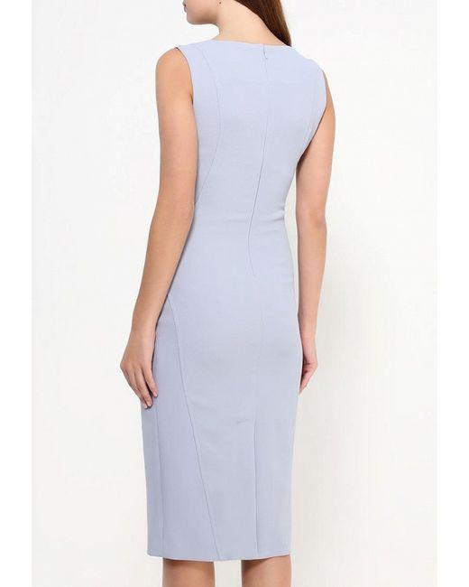 Платье Devore                                                                                                              голубой цвет